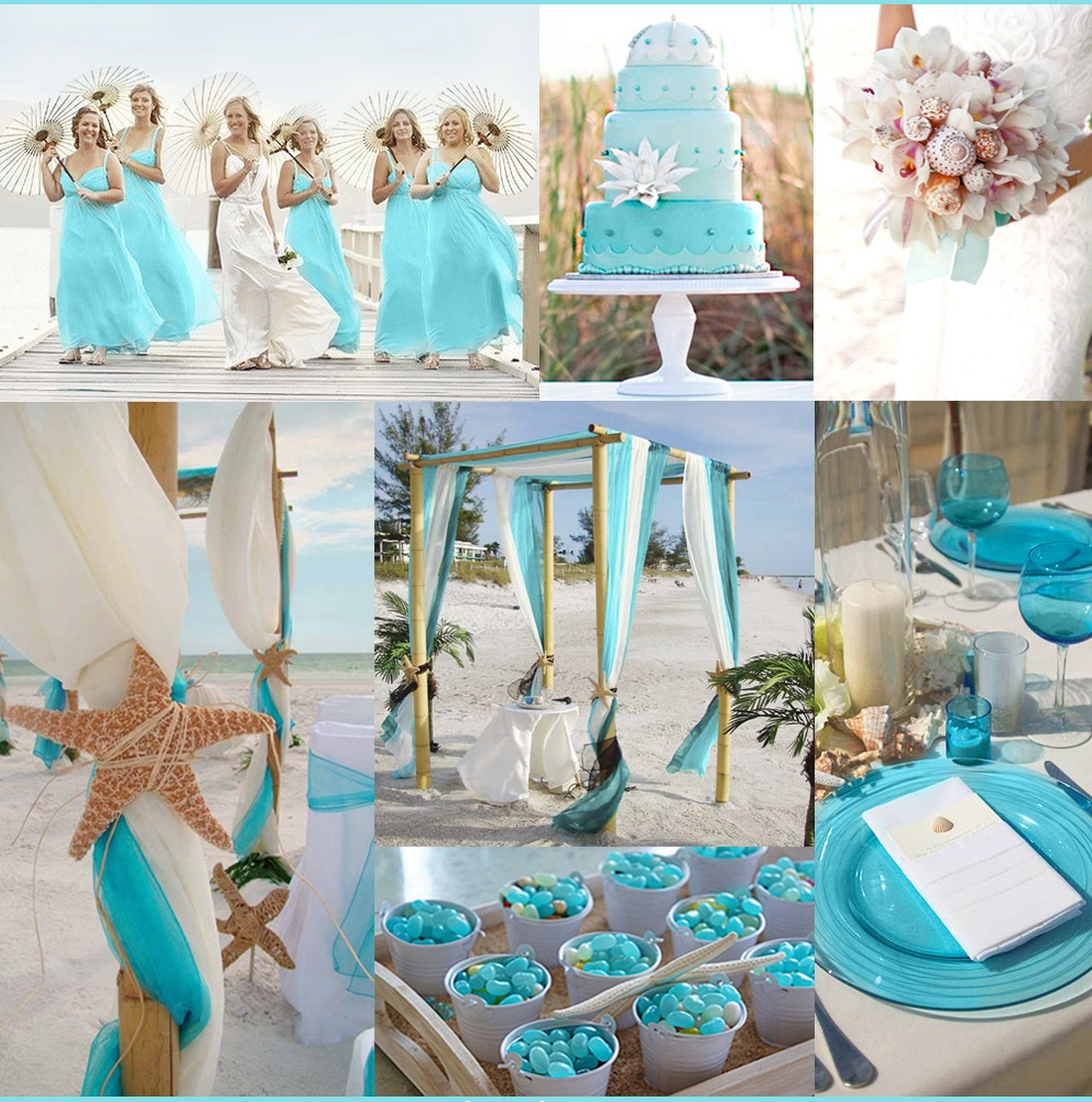 Beach Wedding Ideas Turquoise Beach Wedding Ideas Bridalore