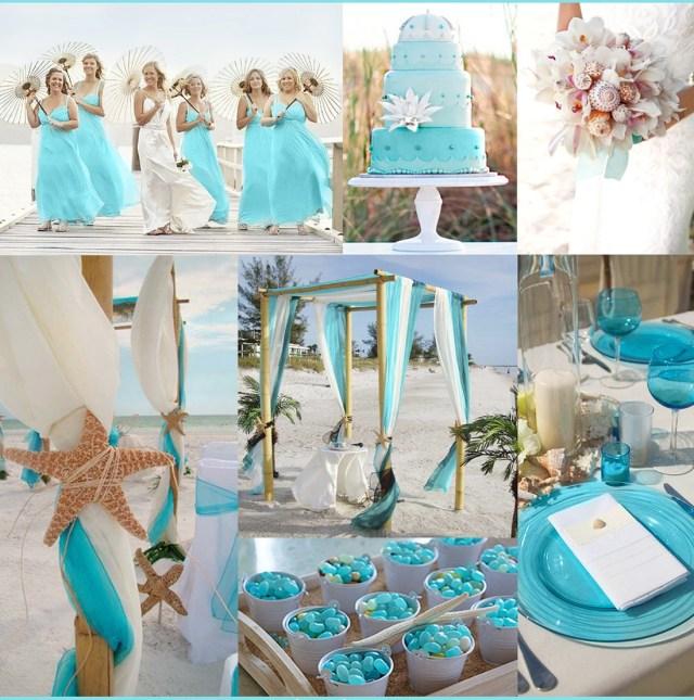 Beach Wedding Ideas Turquoise Beach Wedding Ideas Bridalore
