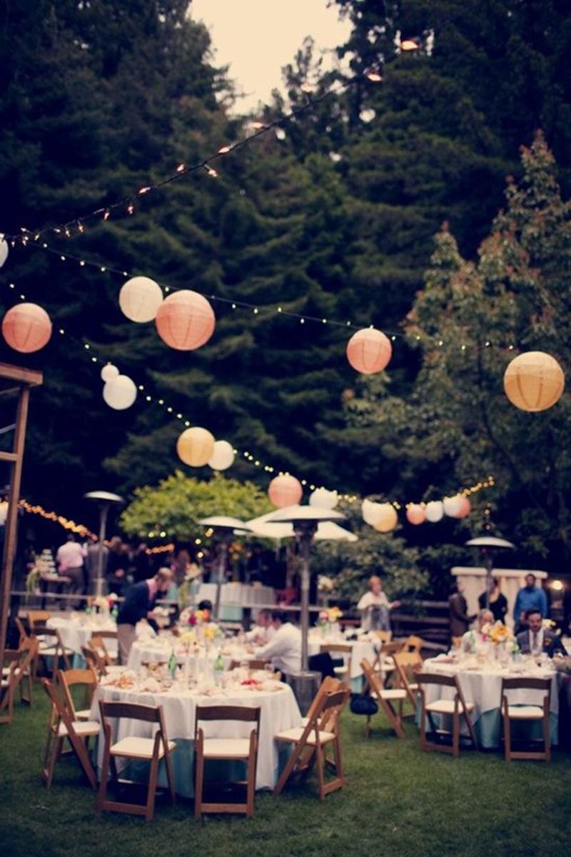Beautiful Wedding Idea Lighting Outdoor Wedding Reception With Lanterns 20 Beautiful