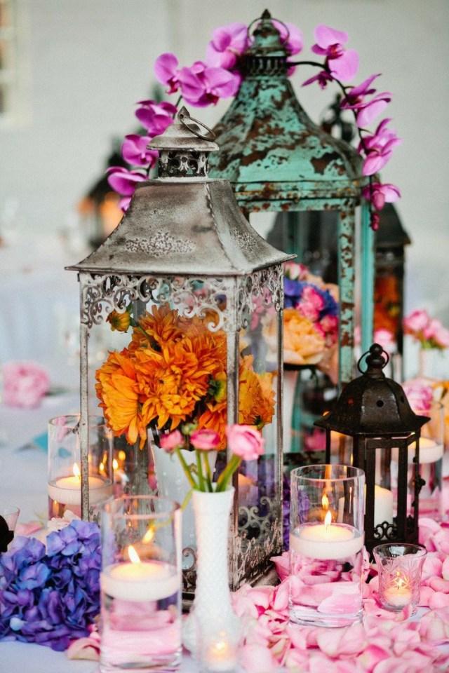 Boho Wedding Decor 34 Bold And Eye Catching Boho Chic Wedding Centerpieces Weddingomania