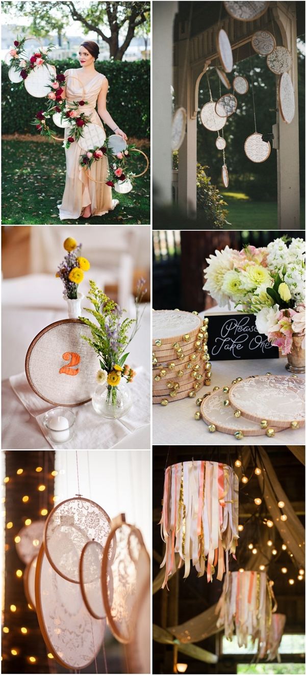 Boho Wedding Decor Boho Wedding Ideas Embroidery Hoops Wedding Decor Ideas Deer