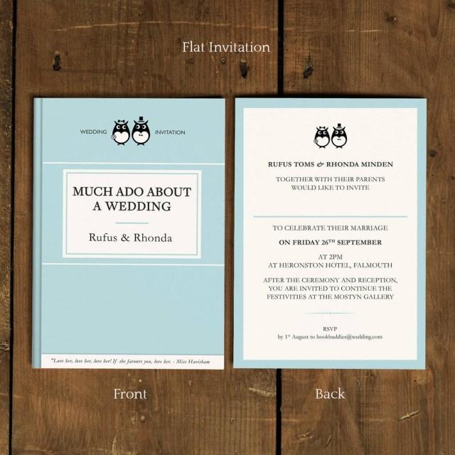 Book Wedding Invitations Classic Book Wedding Invitation Feel Good Wedding Invitations