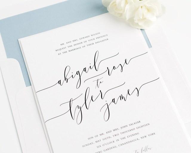 Calligraphy Wedding Invitations Calligraphy Wedding Invitations Calligraphy Wedding Invitations With
