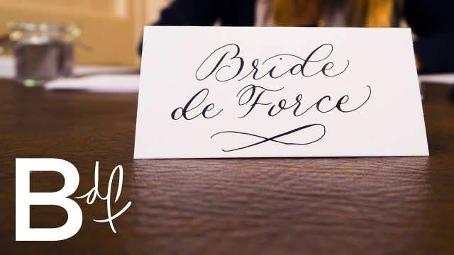 Calligraphy Wedding Invitations Diy Wedding Invitations Calligraphy Youtube