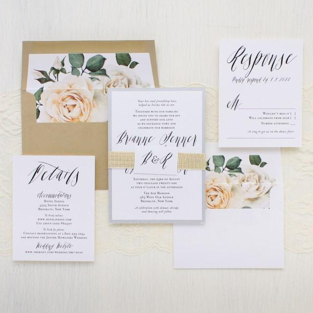Calligraphy Wedding Invitations Modern Calligraphy Customizable Wedding Invitations Beacon Lane