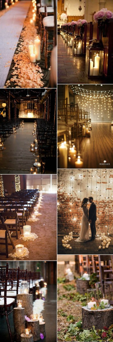 Candlelight Wedding Decor 50 Fancy Candlelight Ideas To Add Romance To Your Weddings