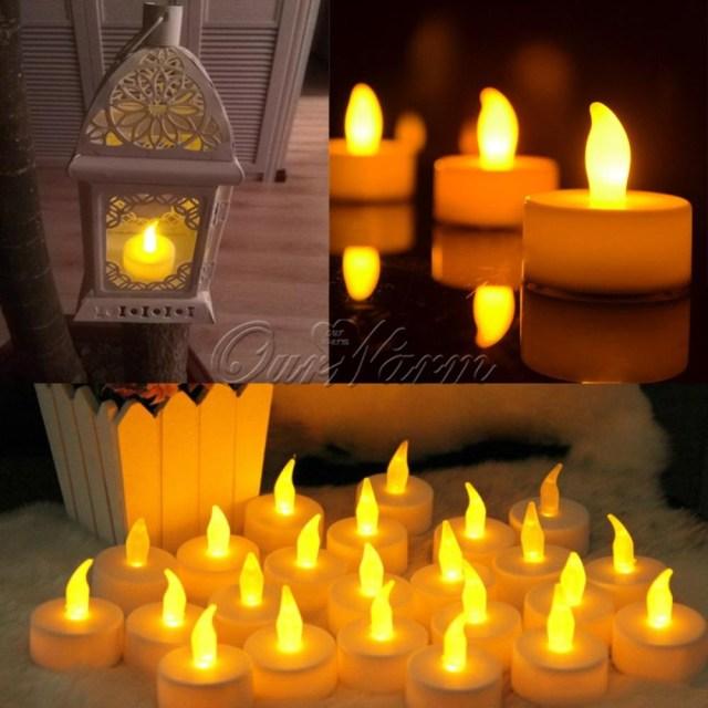Candlelight Wedding Decor Led Candle Light Flameless Candle Lights For Wedding Decoration Glow