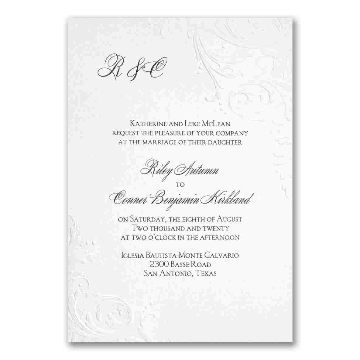 Carlson Wedding Invitations Rhcarlsoncraftproductscom Edged Affordable Disney Wedding