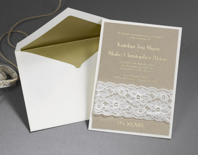 Carlson Wedding Invitations Unique Wedding Invitations With Unconventional Materials Inside