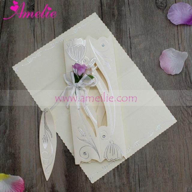 Cheap Invitations Wedding 30piecelot Assorted Colors Cheap Scroll Wedding Invitation Card
