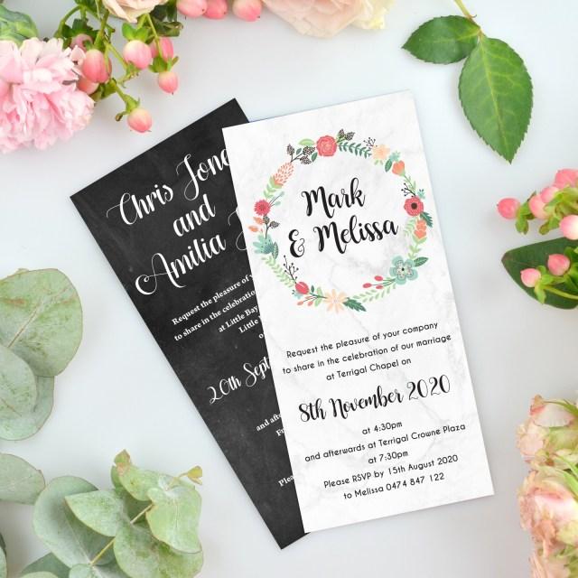 Cheap Invitations Wedding Wedding Invitation Magnets Photo Wedding Invitations Unique