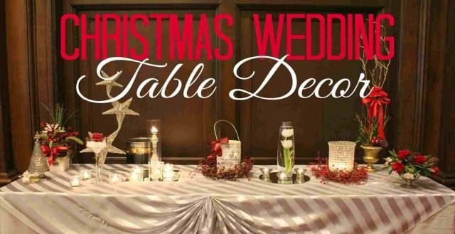 Christmas Wedding Decor Christmas Wedding Centerpieces Tables Luxe Millionnaire