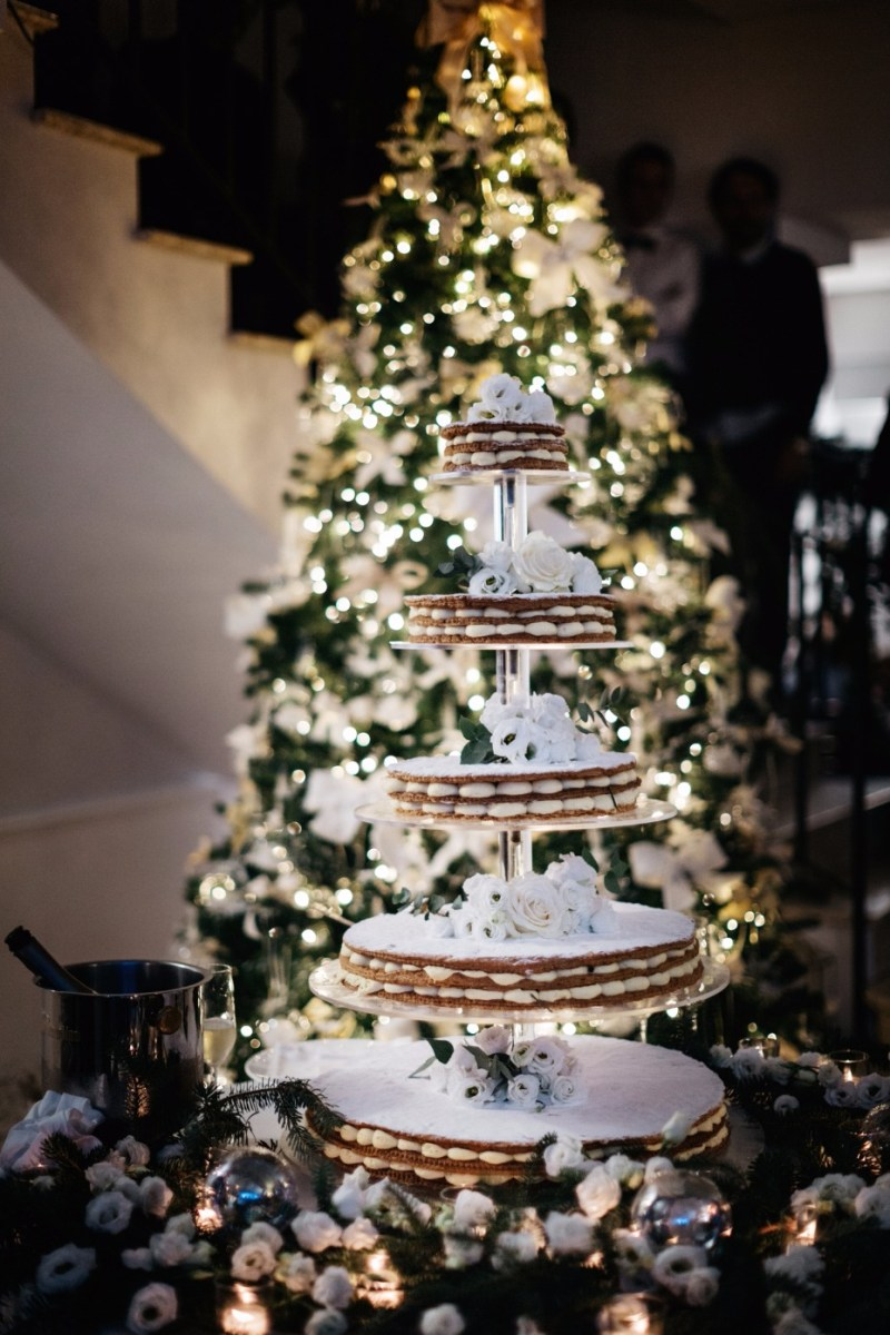 Christmas Wedding Decor Is It Too Early For A Christmas Wedding In Italy We Dont Think So