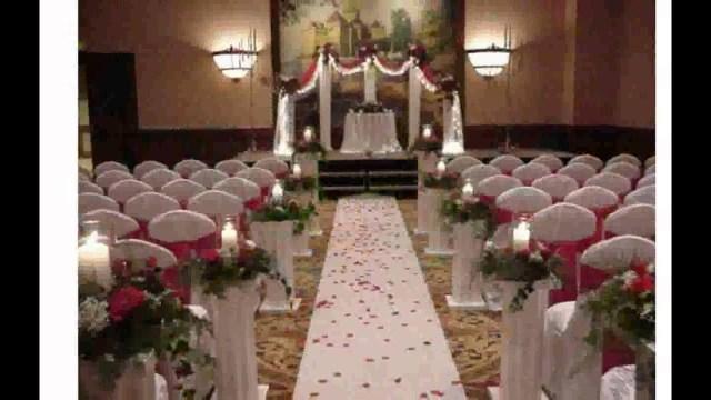 Church Wedding Decoration Wedding Decorations For Church Youtube