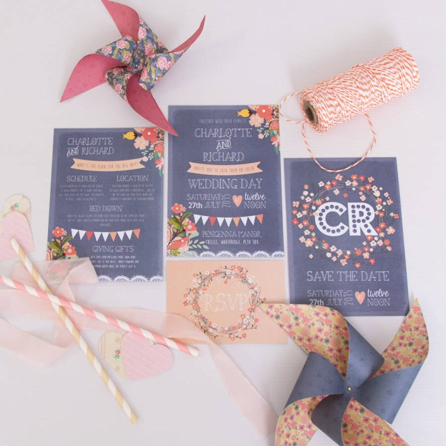 Coral And Grey Wedding Invitations Grey Coral Wedding Invitation Anon Design Studio