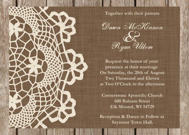 Country Wedding Invitation Wording Country Vintage Wedding Invitation Wording Easy Craft Ideas