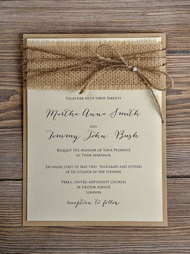 Country Wedding Invitation Wording Rustic Wedding Invitation 10 Wedding Weddi