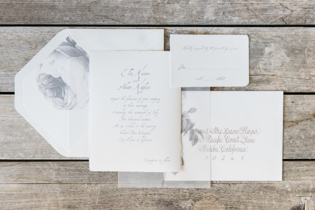 Country Wedding Invites Gray Vellum Wine Country Wedding Invitations