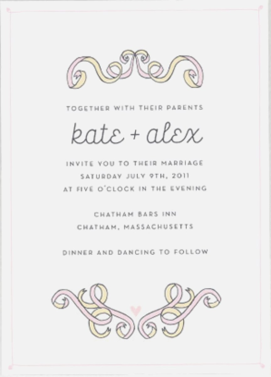 Casual Wedding Invitation Wording.Couple Hosting Wedding Invitation Wording Casual Wedding Invitation