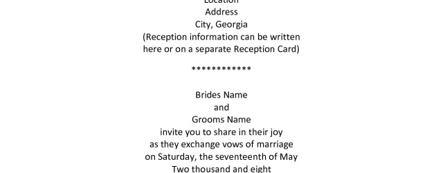 Couple Hosting Wedding Invitation Wording Older Couple Wedding Invitation Wording Wedding Invitation Wording