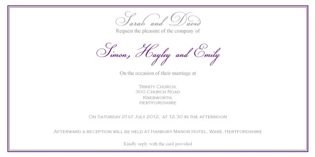 Couple Hosting Wedding Invitation Wording Sample Wedding Invitation Wording Couple Hosting Inspirationa