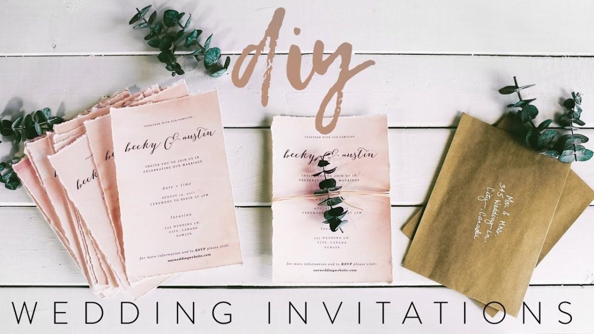 Cricut Wedding Ideas Diy My Wedding Invitations With Me Youtube