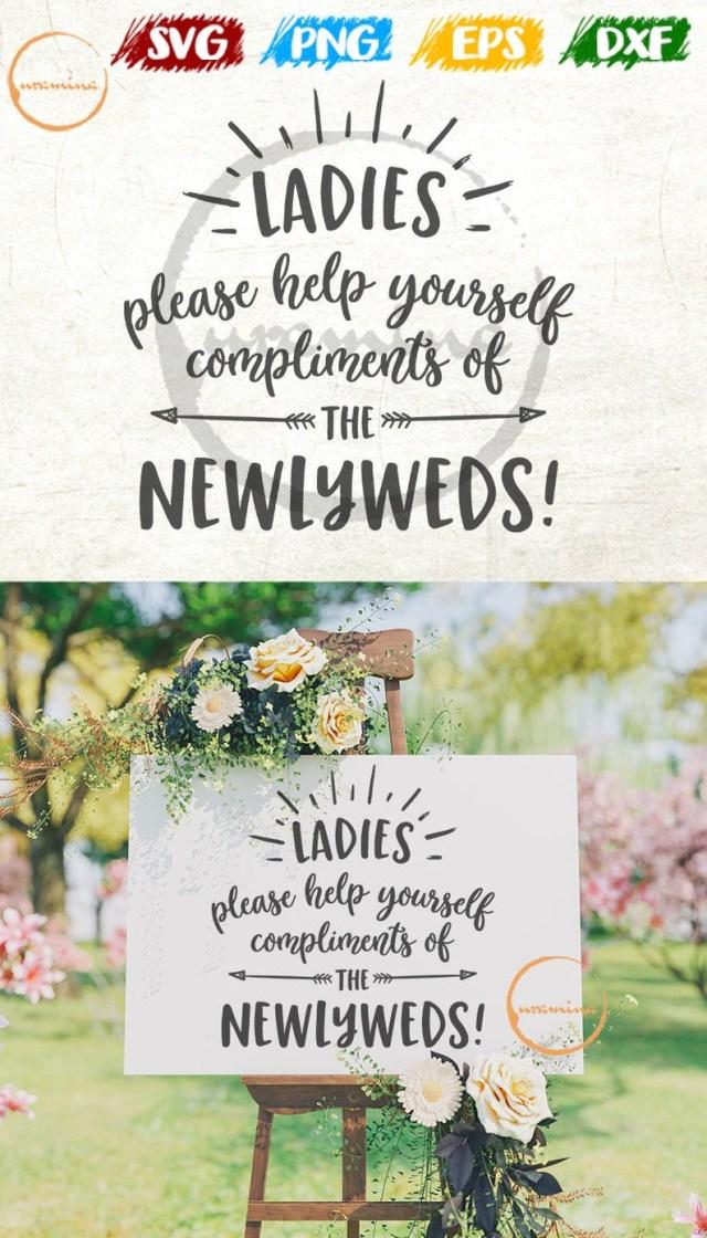 Cricut Wedding Ideas Ladies Wedding Bathroom Svg Cut Files For Cricut Silhouette Etsy