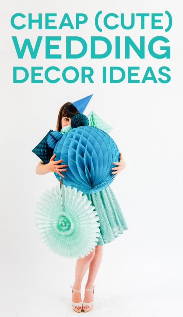 Cute Wedding Ideas Cheap Cute Wedding Decoration Ideas