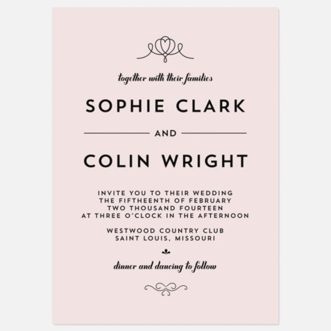 Cute Wedding Invitation Wording