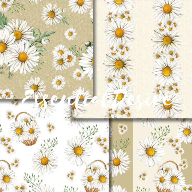 Daisy Wedding Invitations Daisy Wedding Invitations Daisies Watercolor Handpainted Paper