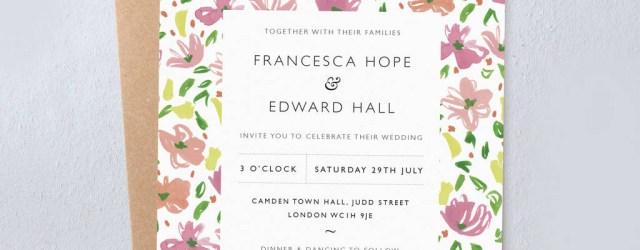 Daisy Wedding Invitations Daisy Wedding Invitations Studio Sophie Notonthehighstreet