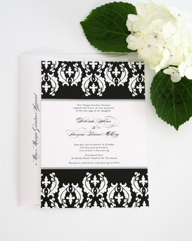 Damask Wedding Invitations Damask Wedding Invitations Damask Wedding Invitations Of Fascinating