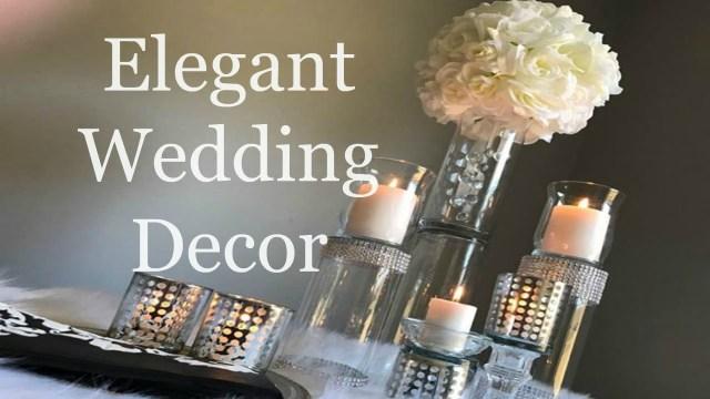Decor Wedding Diy Elegant Dollar Tree Wedding Centerpiece Diy Wedding Decorations