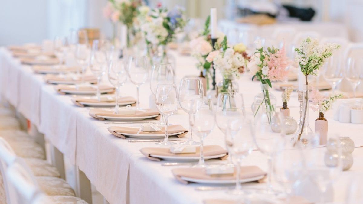Decoration For Wedding 5 Ideas For Wedding Reception Table