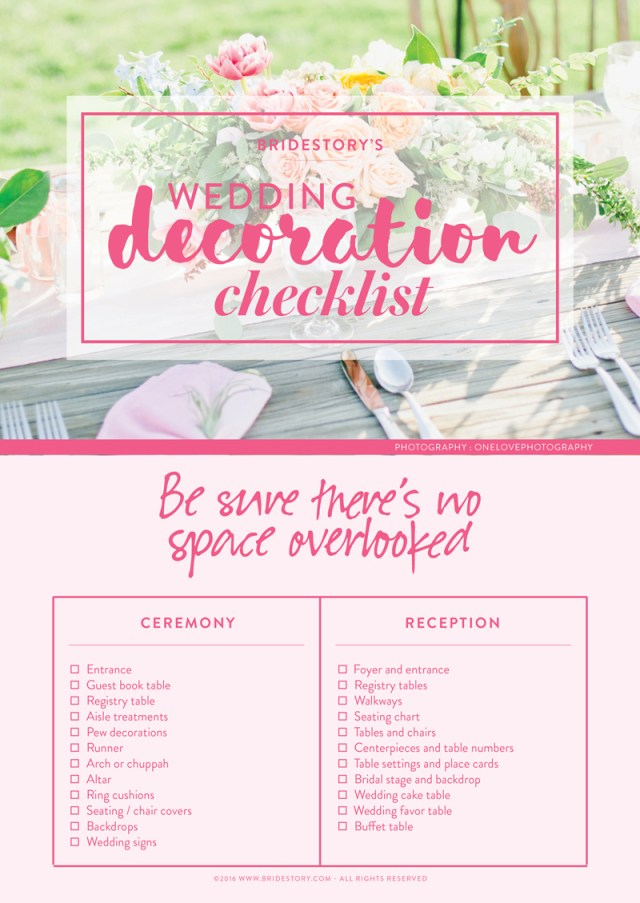Did Wedding Decorations All You Need To Know About Wedding Decorations Bridestory Blog
