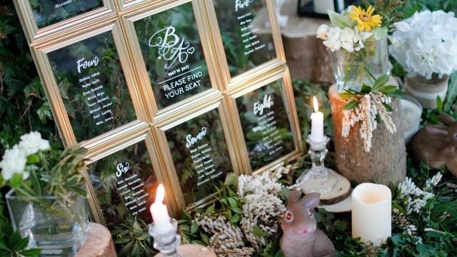 Did Wedding Decorations Diy Wedding Decor Dollar Tree Wedding Seating Chart Youtube