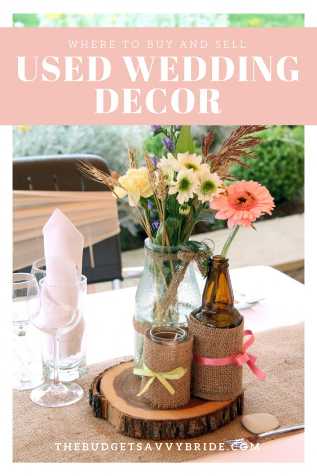 Did Wedding Decorations Where To Buy And Sell Used Wedding Decor Online