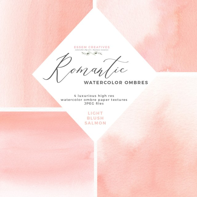 Digital Wedding Invitations Blush Watercolor Ombres Background For Wedding Invitations Essem