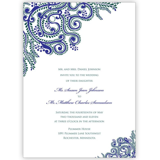 Digital Wedding Invitations Printable Vines Indian Wedding Invitations Digital Files For Self