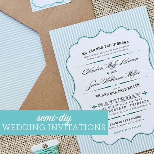 Discounted Wedding Invitations Wedding Invitations On A Budget Semi Diy Wedding Invites Wedding