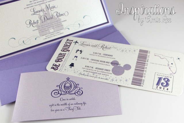Disney Wedding Invitations Disney Wedding Invitations Disney Boarding Pass Disney Wedding