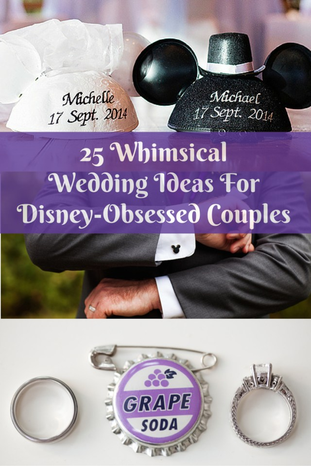 Disneyland Wedding Invitations 25 Whimsical Wedding Ideas For Disney Obsessed Couples Huffpost Life