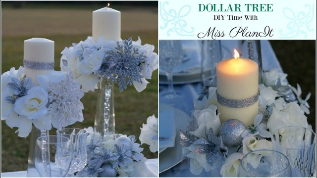 Diy Centerpieces Wedding Diy Dollar Tree Wedding Centerpiece For 10 Diy Dollar Tree Decor