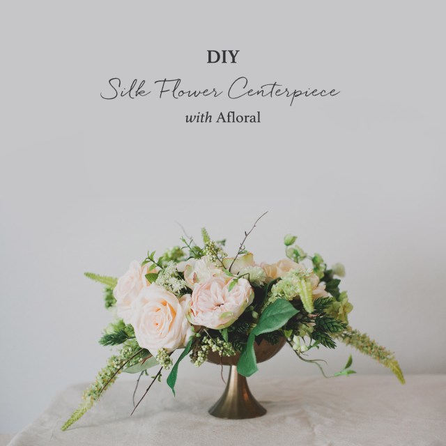 Diy Centerpieces Wedding Diy Silk Flower Centerpiece Green Wedding Shoes