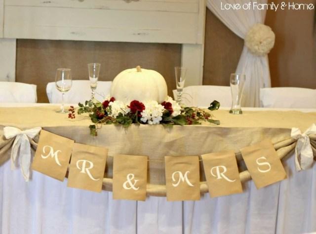 Diy Fall Wedding Ideas On Trendy Diy Wedding Decoration Wedding Decoration