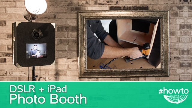 Diy Photobooth Wedding How To Make A Dslr Ipad Photo Booth Youtube