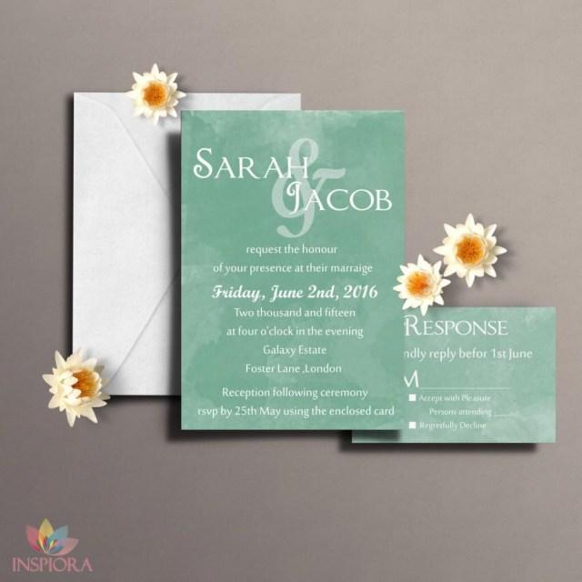 Diy Watercolor Wedding Invitations Diy Watercolor Wedding Invitation Printable Watercolour Invitations