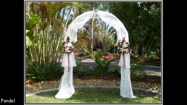 Diy Wedding Alter Diy Wedding Arch Decorating Ideas Youtube