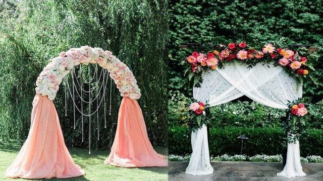 Diy Wedding Alter Diy Wooden Arch Perfect For Wedding Diy Wedding Arch Diy Floral