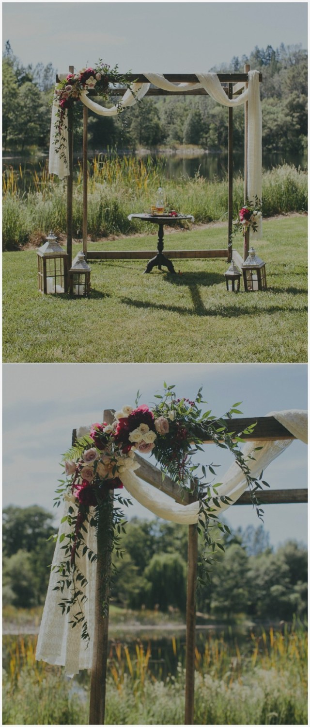 Diy Wedding Alter Plans For Diy Wedding Arch Fresh Wooden Wedding Arbor Draped White